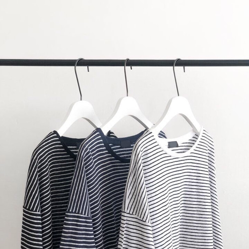 stripe long tee