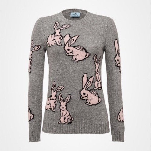 Prad* rabbit knit