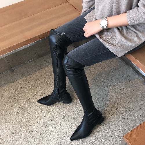 chic knee High boots