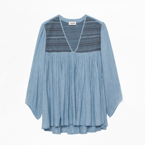 zadig smoke blouse