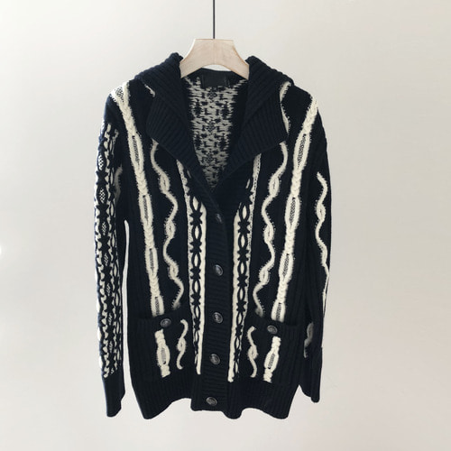CHA winter cardigan