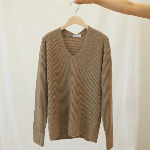 lauren V-neck knit