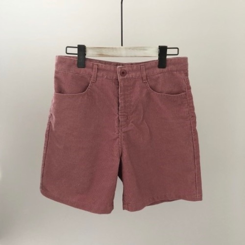 (바로배송) corduroy short pants