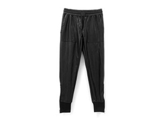 leather jogger pants1