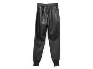 leather jogger pants2