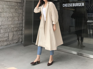 Dries Van trench coat