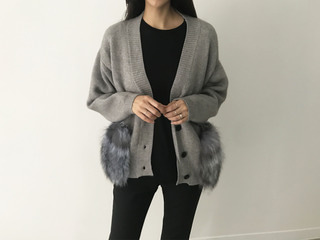 fox pocket cardigan