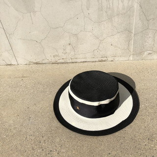 CHANE* black panama hat